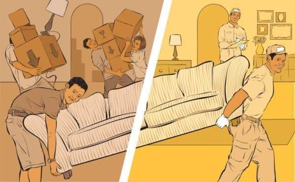 movers vs diy move