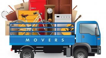 Sparta Movers Calgary Moving Company Loaded Truck