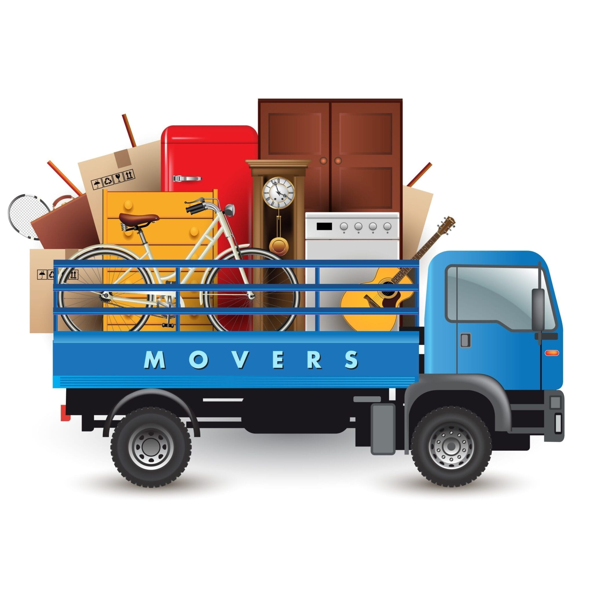 Sparta Movers Calgary Moving Company Loaded Truck